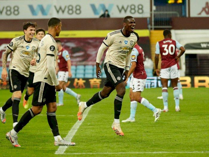 Manchester United Terlalu Perkasa Bagi Aston Villa
