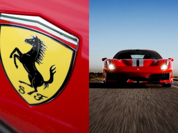 #KAMUHARUSTAU : Inilah Makna Logo Kuda Jingkrak pada Mobil Ferrari!