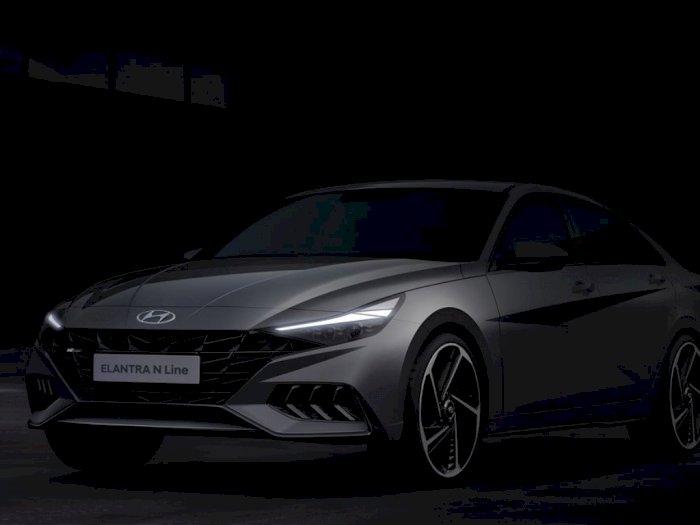 Hyundai Pamer Desain Produk Terbaru, Hyundai Elantra N Line