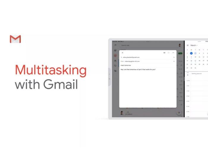 Aplikasi Gmail di iPadOS Kini Dukung Fitur Split View!