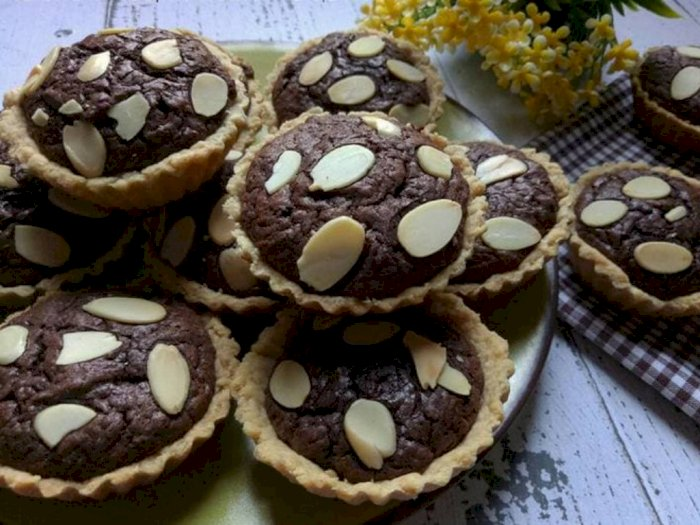 Membuat Pie Brownies, Biar Nggak Bad Mood