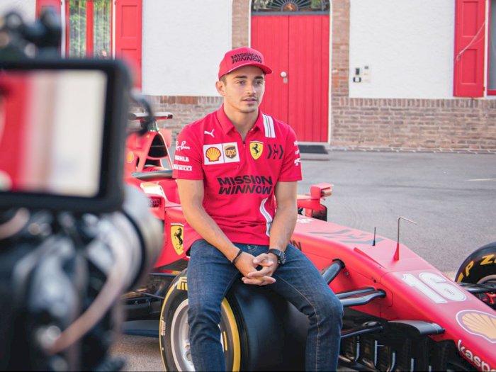 Menjelang F1 Styria, Charles Leclerc Berharap Perangkat Baru Bisa Tunjang Performa SF1000