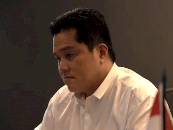 Hadapi Ancaman Jokowi Reshuffle Kabinet, Erick Thohir Mengaku Siap Dicopot dari Menteri
