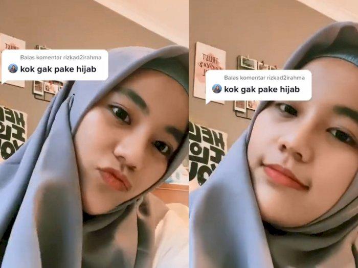 Wanita Non-Muslim Ini Coba Pakai Hijab, Netizen Auto Salah Fokus