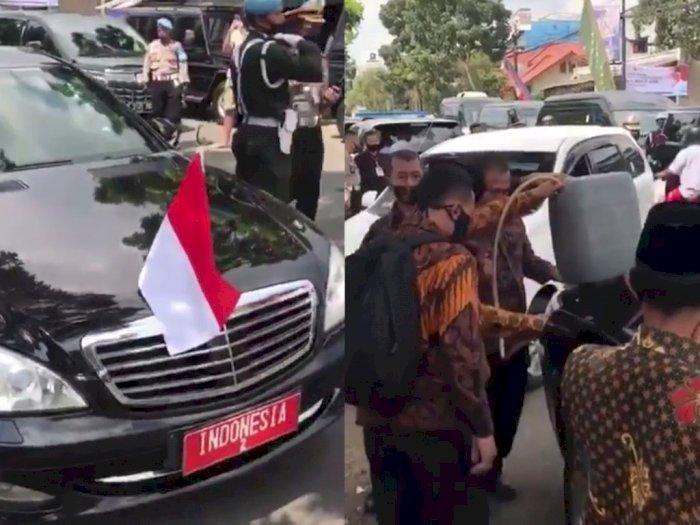 Viral Video Mobil Wapres Diisi Bensin Jeriken-an, Begini Tanggapan Setwapres