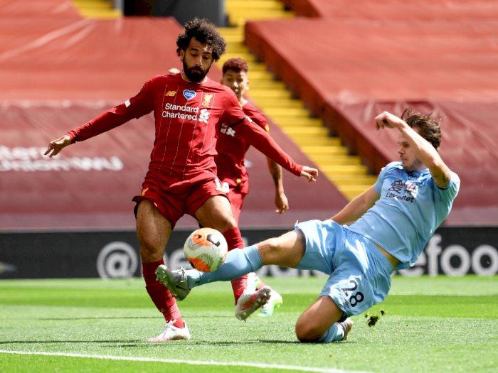 FOTO: Liverpool Ditahan Imbang Burnley di Anfield