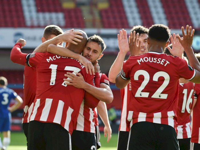 Liga Inggris: Sheffield United Cukur Habis Chelsea 3-0