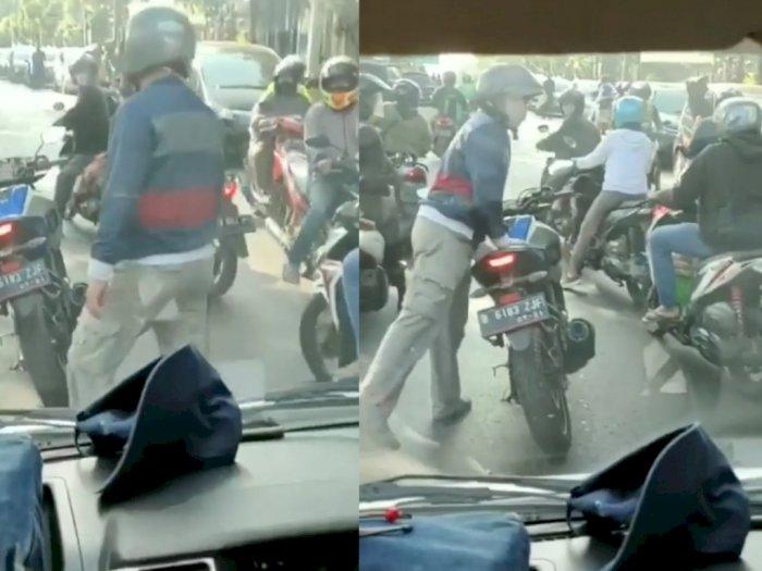 Viral Pemotor Hadang Ambulans di Depok, Polisi Sebut Kasus Berujung Damai
