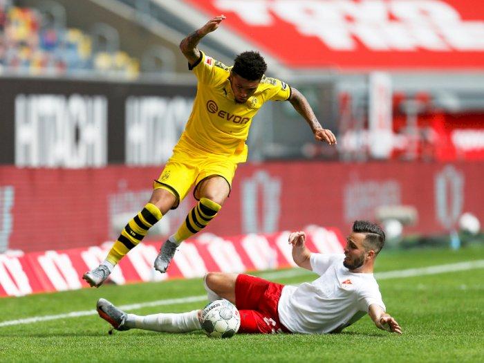 Borussia Dortmund Ogah Turunkan Harga Transfer Jadon Sancho