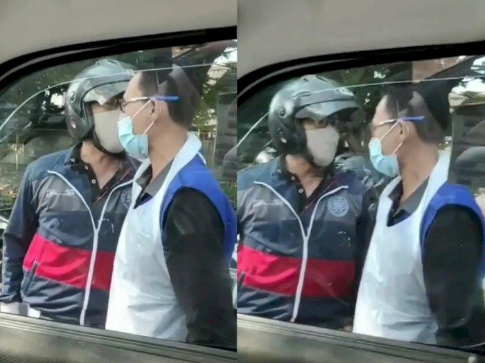 Viral Pemotor Vs Sopir Ambulans di Depok, Begini Kronologinya