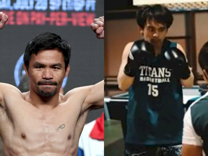 Manny Pacquiao Unggah Video Anak Berlatih Tinju, Emmanuel: That's The Secret of A Fighter