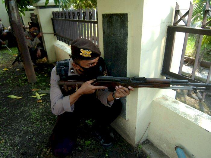 Terduga Teroris Tewas Usai Ditembak Densus 88 di Sukoharjo