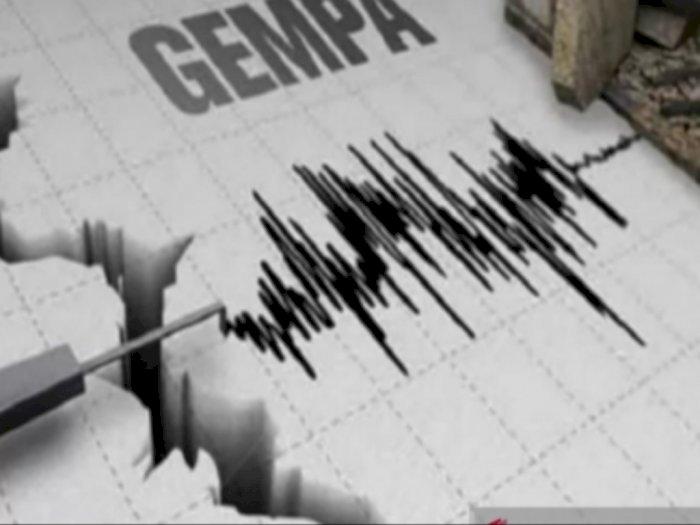 Gempa Berkekuatan M 5.0 Guncang Sumatera Selatan