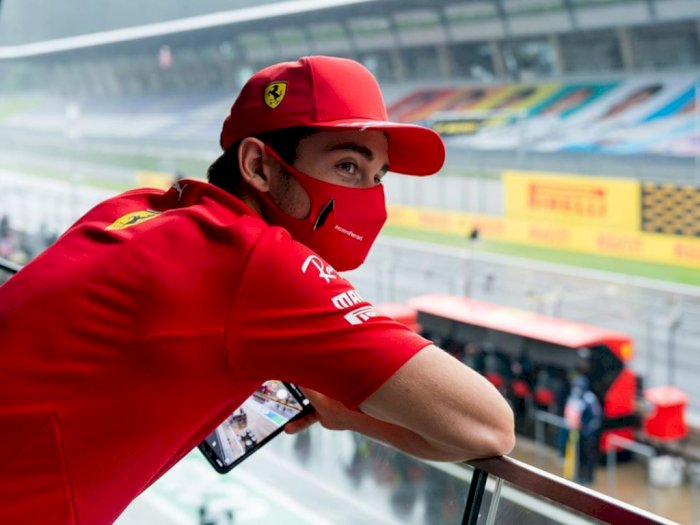Charles Leclerc Meminta Maaf Kepada Sebastian Vettel saat F1 Styria 2020, Kenapa Nih?