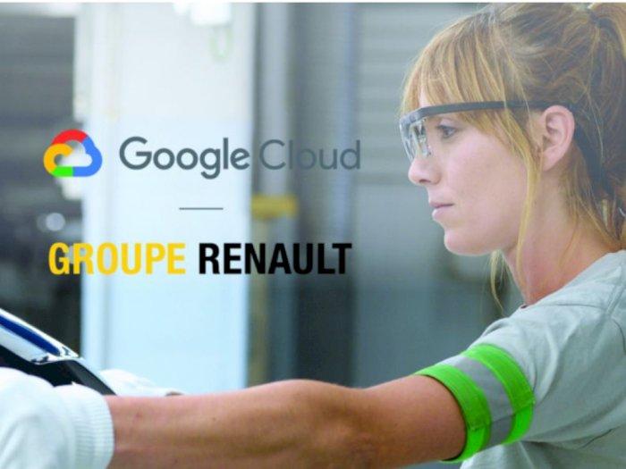 Guna Optimalkan Manajemen Data, Renault Jalin Kerja Sama dengan Google Cloud