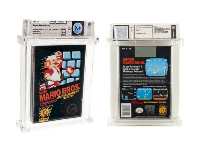 Game Fisik Super Mario Bros untuk Console NES Terjual Seharga Rp1,6 Miliar!
