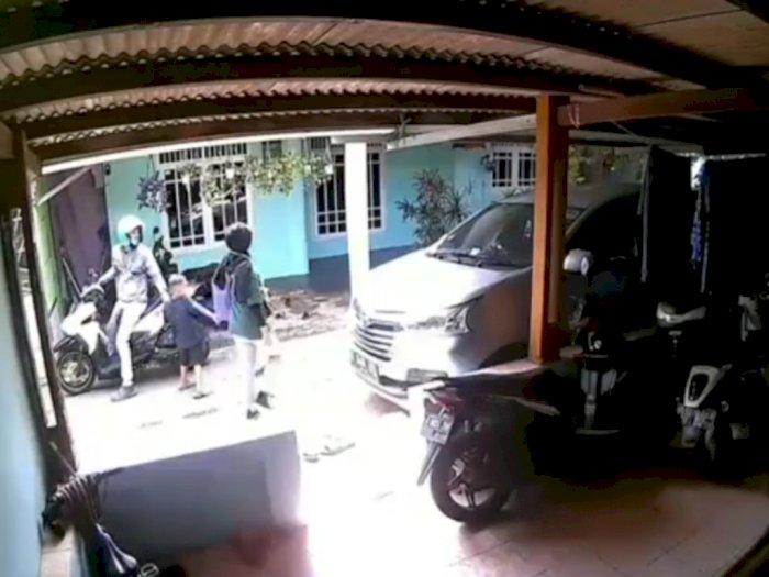 Viral Jambret Kalung Bocah di Depok, Polisi Buru Pelaku