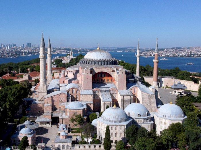Turki Akan Beritahu UNESCO Terkait Hagia Sophia yang Kembali Jadi Masjid