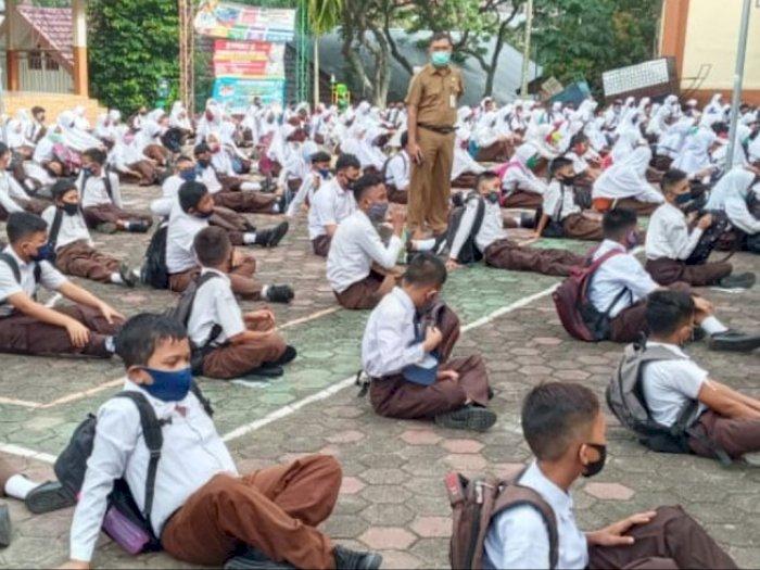 Uji Coba Hari Pertama Belajar Tatap Buka di Sekolah, Walkot Jambi: 50 Persen Siswa Hadir