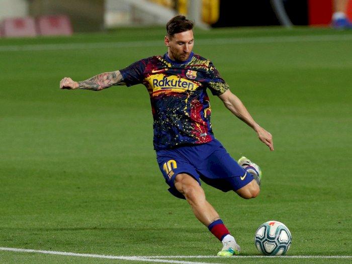 """Bartomeu: Messi Tetap di Barcelona dan Akan Teken Kontrak Baru"""""""