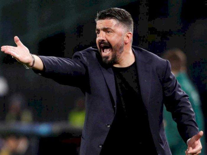 Imbang Lawan AC Milan, Gattuso Kesal Timnya Banyak Buang Peluang