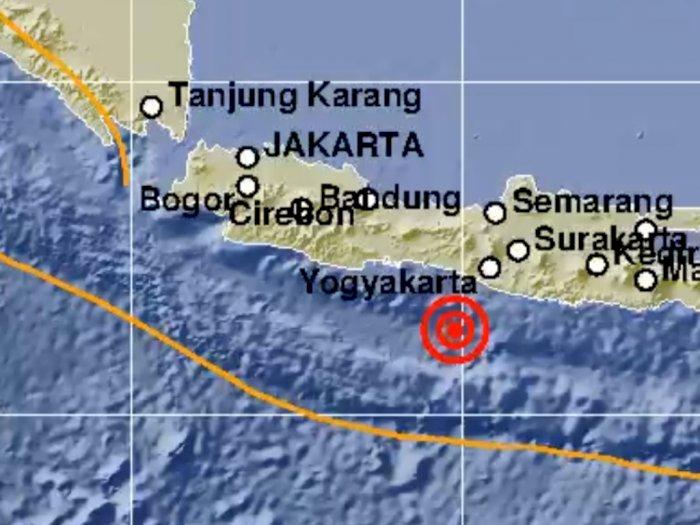 Yogyakarta Diguncang Gempa Kekuatan M 5.2, Bikin Warga Deg-degan