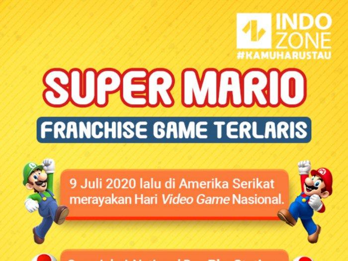 Super Mario, Franchise Game Terlaris
