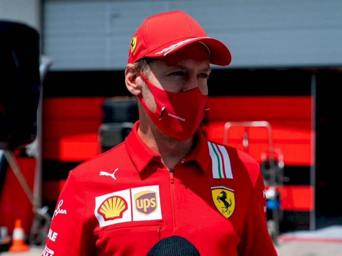 Sebastian Vettel Ngaku Kecewa dengan Hasil Kualifikasi F1 Styria, Ini Penjelasannya!