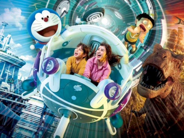 Menerobos Ruang dan Waktu dengan Roller Coaster Doraemon di Universal Studios Jepang