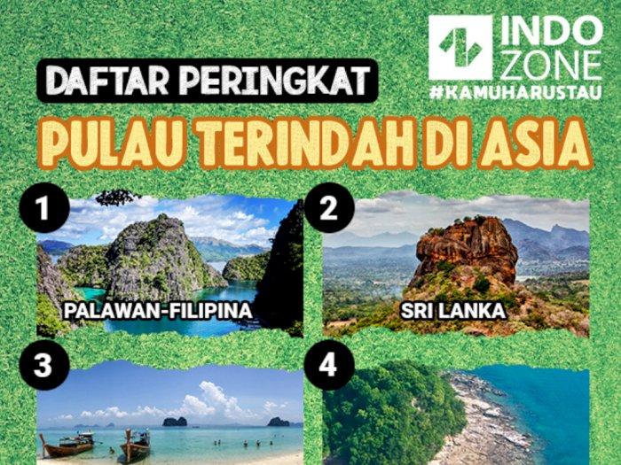 Daftar Peringkat Pulau Terindah di Asia
