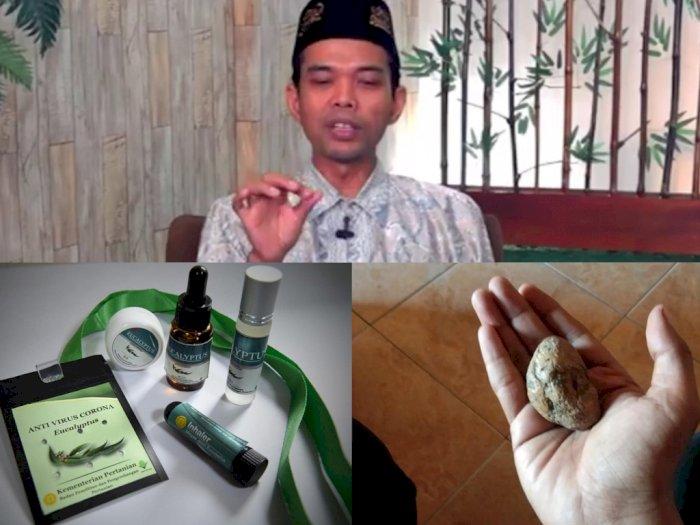 Kalung Antivirus Corona Tuai Kontroversi, UAS Ingatkan Cerita Batu Ponari yang Bikin Heboh