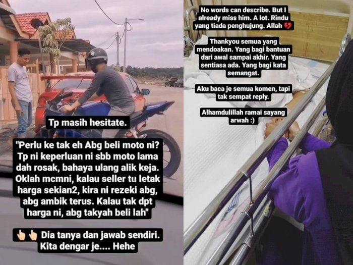 Cerita Istri Lihat Suami Meninggal Kecelakaan Sepulang Beli Motor Idaman Ini Bikin Sedih