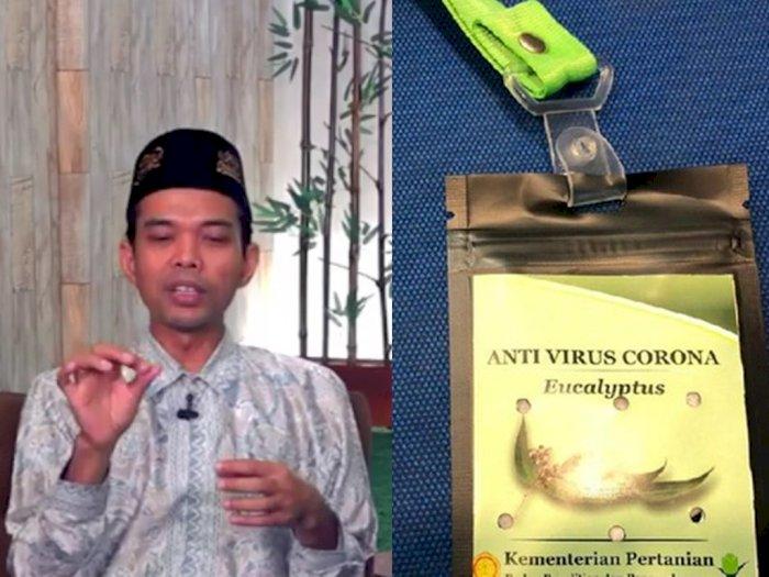 Polemik Kalung Antivirus Corona, Ustaz Abdul Somad Angkat Bicara, Simak Penjelasannya
