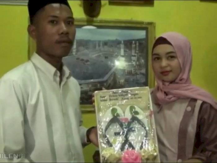 Heboh Pengantin dengan Maskawin Sendal Jepit, Rupanya Cuman Gimmick Biar Viral