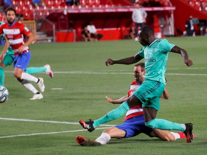 FOTO: Real Madrid Ungguli Granada di Babak Pertama