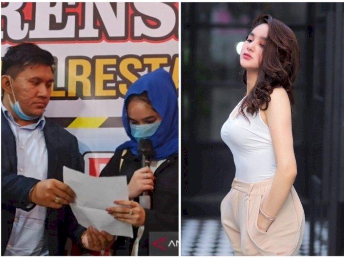 Hana Hanifah Minta Maaf, Statusnya Hanya Saksi, Mucikari Ditetapkan Jadi Tersangka