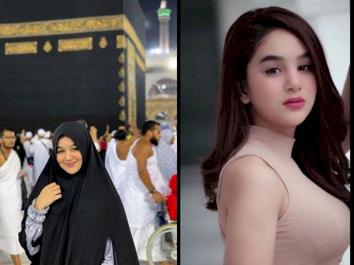 Sebelum Terlibat Prostitusi Online, Hana Hanifah Pernah ke Mekkah dan Madinah, Ini Fotonya
