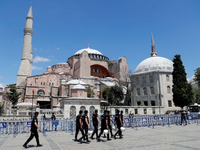 Para Ulama Indonesia Dukung Alih Fungsi Hagia Sophia di Turki Jadi Masjid