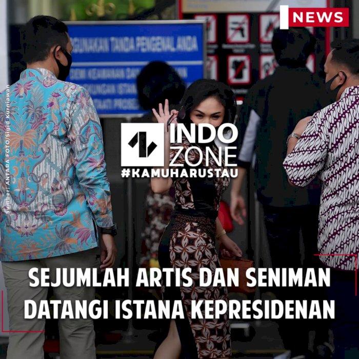 Sejumlah Artis dan Seniman Datangi Istana Kepresidenan