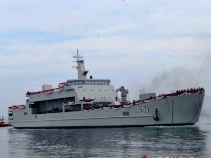 Kapal Perang TNI AL Tenggelam di Timur Laut Pulau Kangean Jawa Timur, Ini Penyebabnya