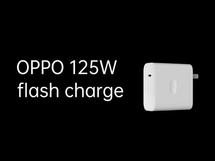 Oppo Resmi Perkenalkan Flash Charge 125W, Bisa Isi Penuh Baterai dalam 20 Menit!