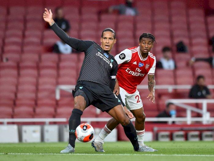 Virgil van Dijk Mengaku Bersalah atas Blundernya di Laga Kontra Arsenal