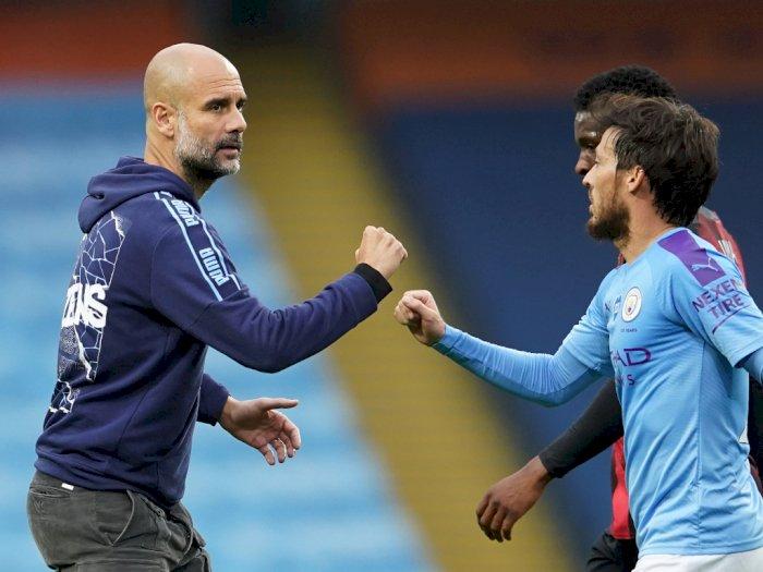Guardiola: David Silva Siap Tinggalkan Manchester City