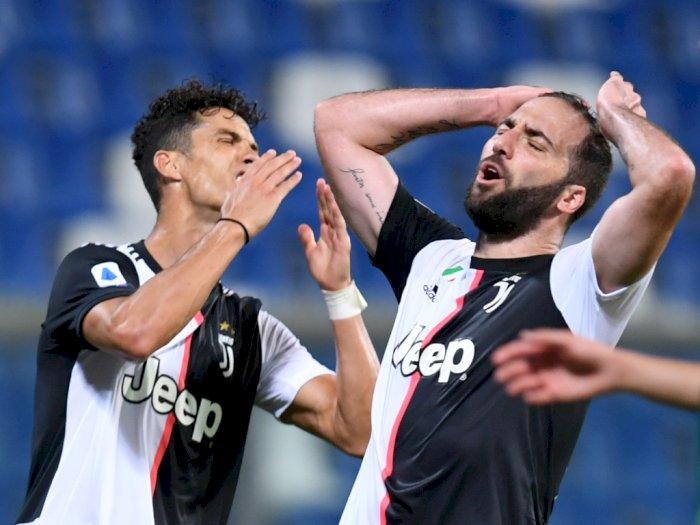 Juventus Berbagi Poin dengan Sassuolo, Warganet: Fix Gak Scudetto!