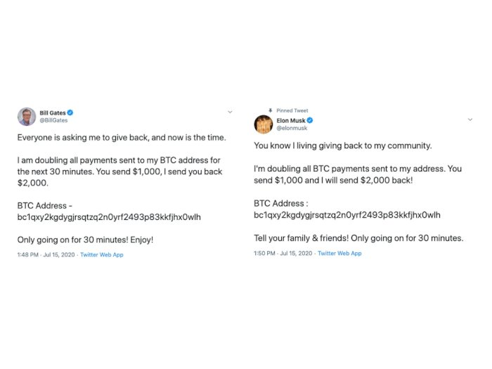 Akun Twitter Bill Gates, Elon Musk, hingga Jeff Bezos Dilaporkan Telah Diretas