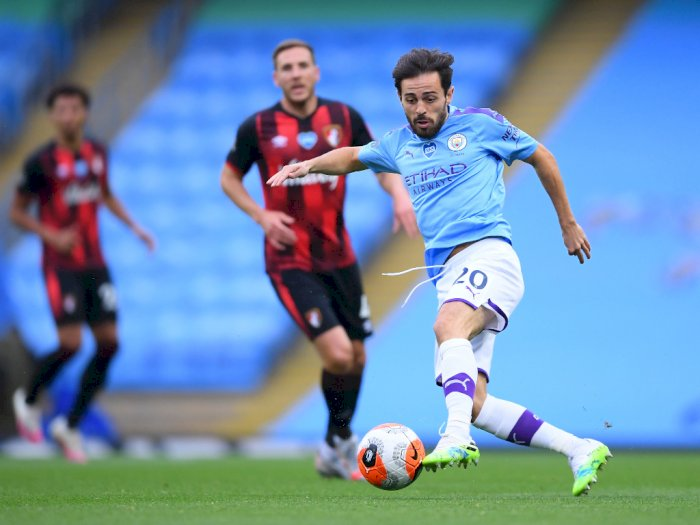 FOTO: Jamu Bournemouth, City Menang 2-1