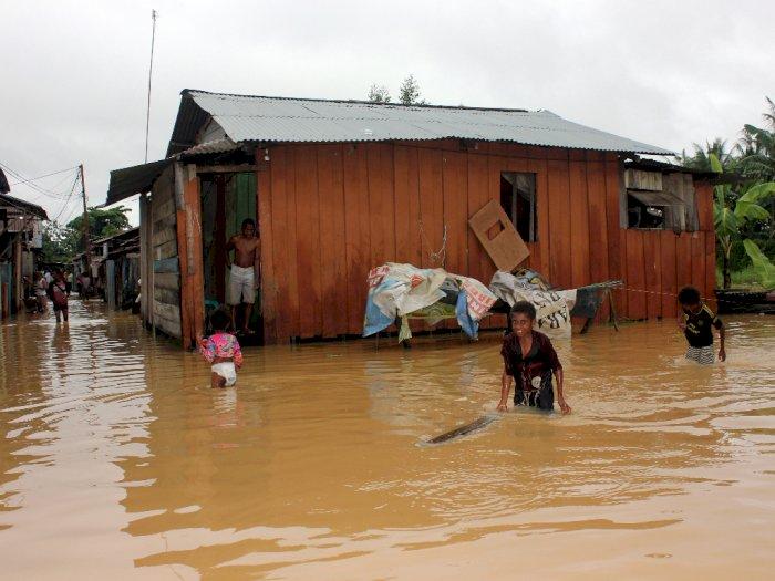 FOTO: Banjir dan Longsor di Kota Sorong, 3 Orang Meninggal
