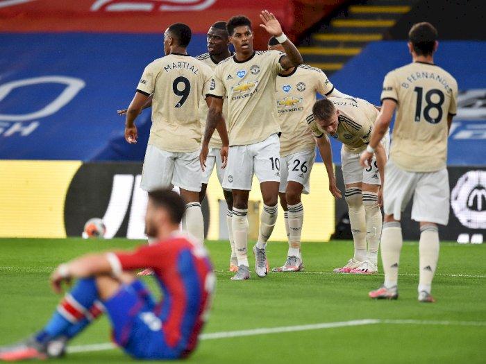 Crystal Palace VS Manchester United: Setan Merah Unggul di Babak I