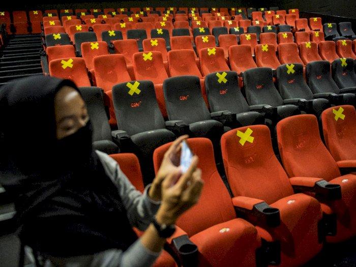 Seluruh Bioskop Indonesia Batal Dibuka 29 Juli