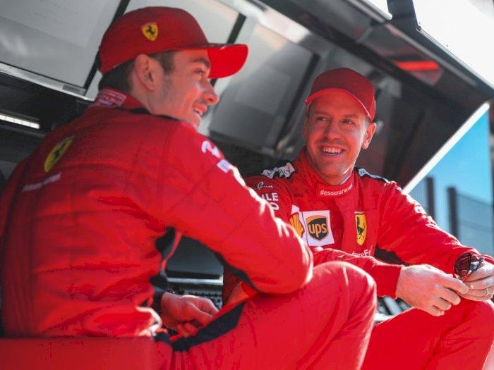 Charles Leclerc dan Sebastian Vettel Sepakat Lupakan Insiden F1 Styria Jelang F1 Hungaria
